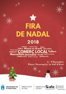 cartel mercadillo navidad