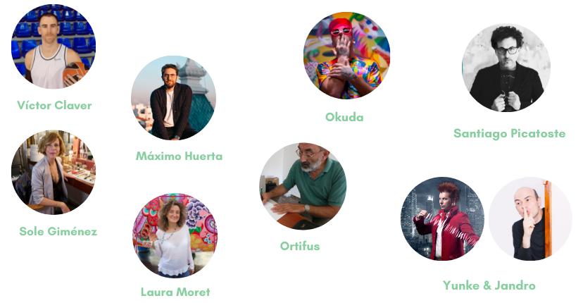 Personajes #AspanionSocialArt