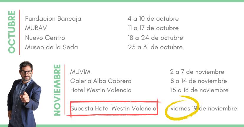 Exposición itinerante #AspanionSocialArt